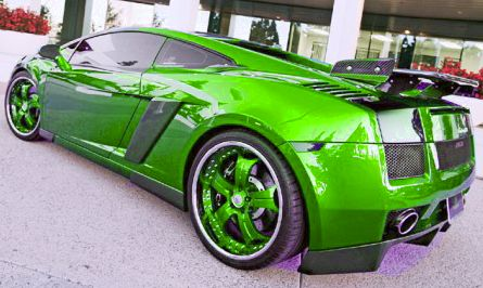Images Of Cars Lamborghini Gallardo Spyder Fully Wrapped Gloss Lime