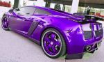 Purple Lamborghini