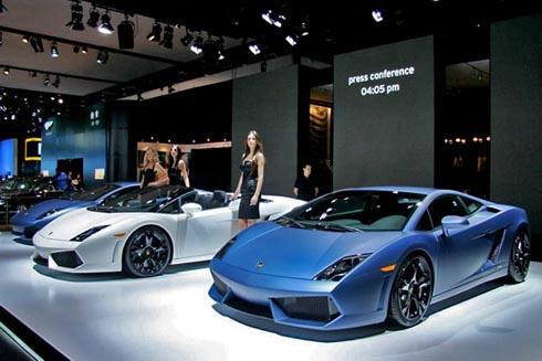 Matte Blue Lamborghini Gallardo