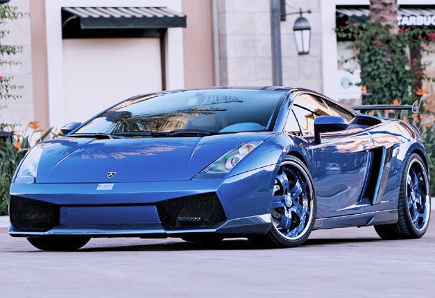 lamborghini gallardo - Lamborghini Gallardo Wallpaper Blue