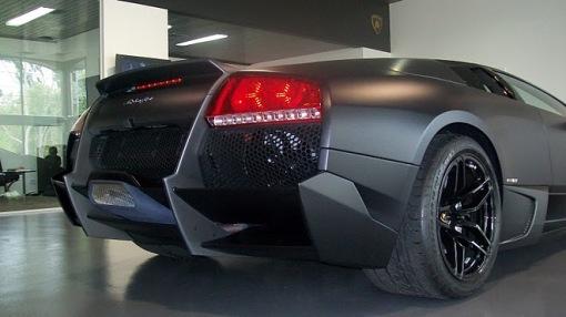 Nero Nemesis Lamborghini Murcielago LP670-4 SuperVeloce