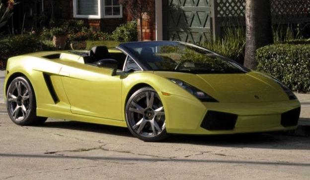 Dark Green Lamborghini Gallardo Lamborghini Gallardo Green