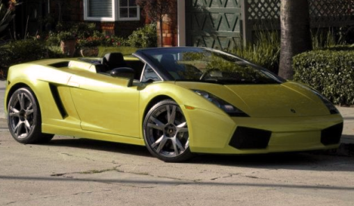 Lamborghini Gallardo Green