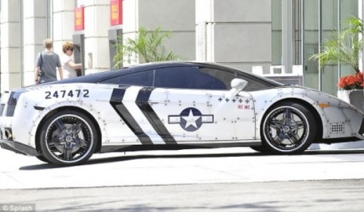 Chris Brown's Lamborghini Gallardo