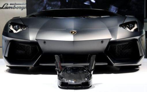 Lamborghini Aventador Miniature Model
