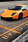Lamborghini Murcielago SV iPhone Wallpaper